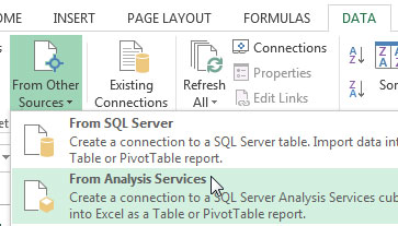1-SSAS-Viewing-a-Cube-in-Excel
