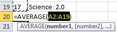 4-Averages