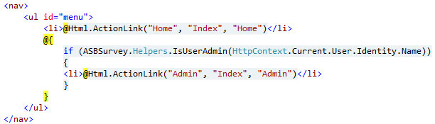 1.MVC--Conditionally-display-View-link