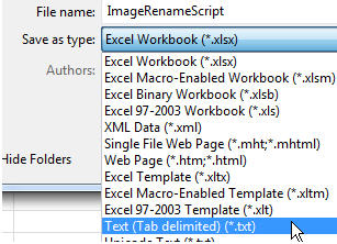 Excel: Images-Batch-Rename | TechMbaBi